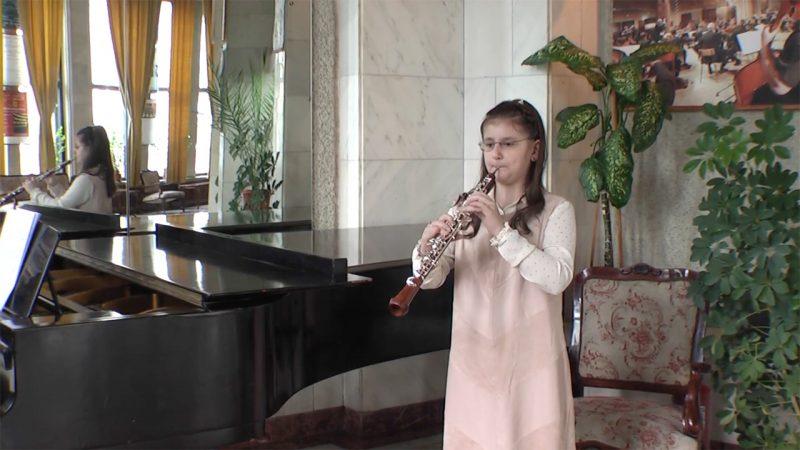 Monica Andreea Rusu Donighevici, oboe