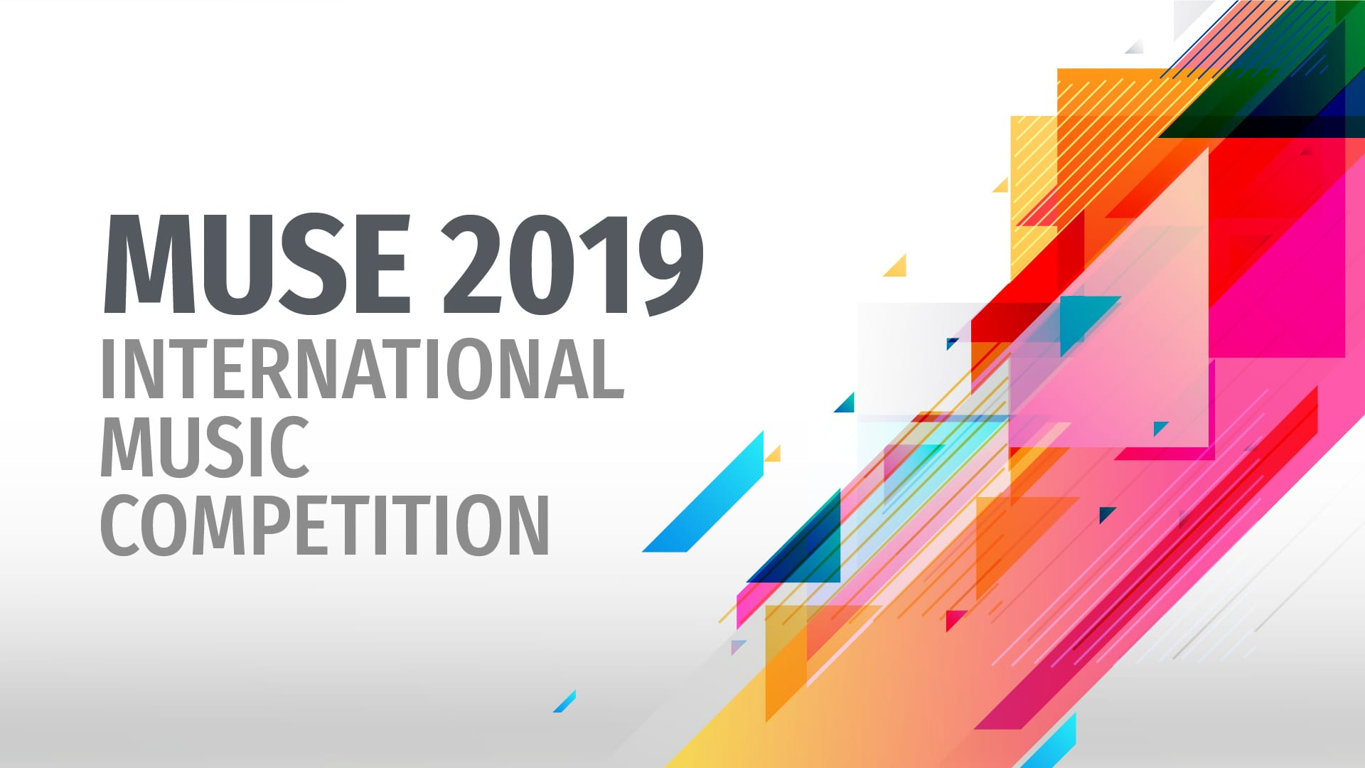 Muse 2019 International Music Competition